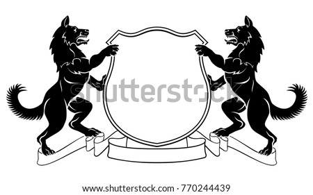 dogs crest coat of arms