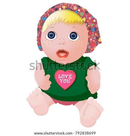 doll for lovers vector image