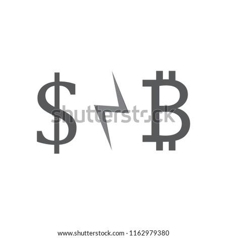 dollar and bitcoin crysis