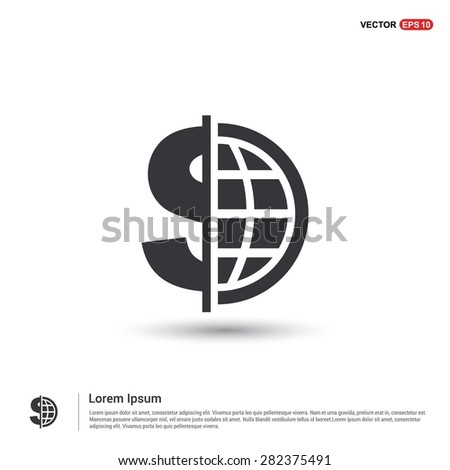 dollar currency symbol with