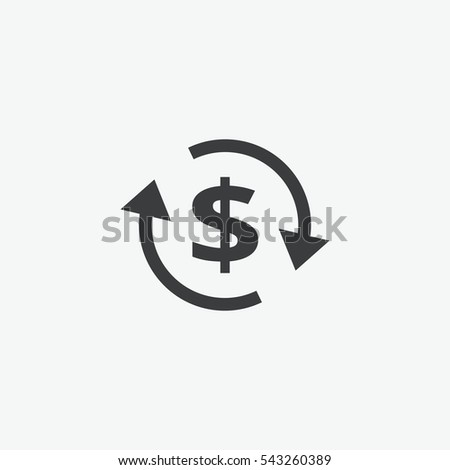 Dollar Money Change Icon