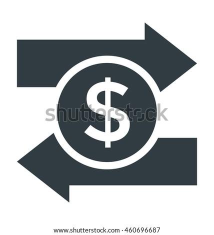 Dollar Valuation Vector Icon