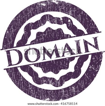 Domain grunge seal