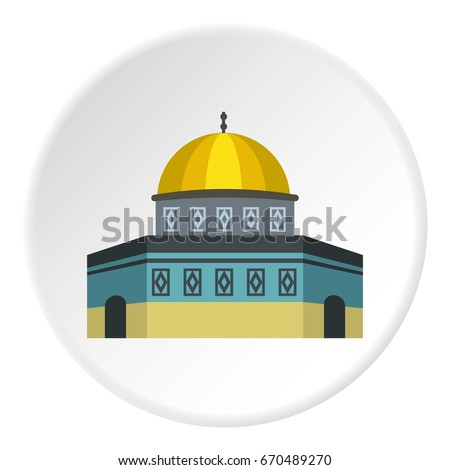 dome of the rock on the temple...