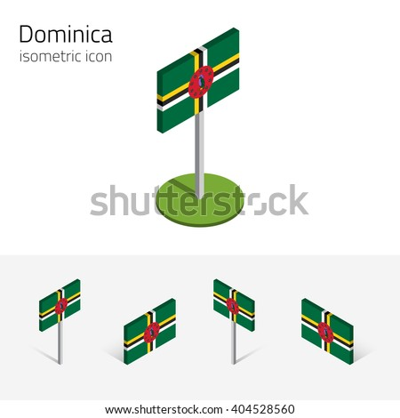 dominica flag  commonwealth of