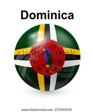 dominica official state button