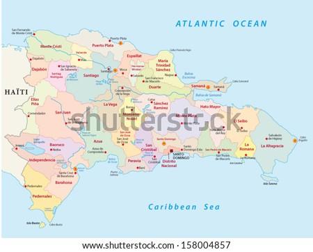 Free Vector Map of Dominican Republic Free Vector Art at Vecteezy