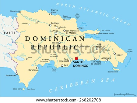 Free Vector Map Of Dominican Republic Free Vector Art At Vecteezy - Dominica political map