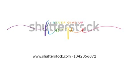 don t give up hope brush