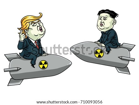 donald trump vs kim jong un on