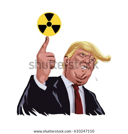 donald trump with nuclear