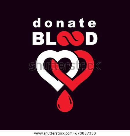 donate blood inscription