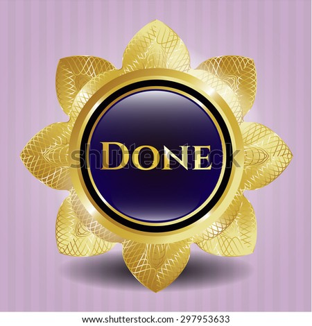 Done shiny emblem