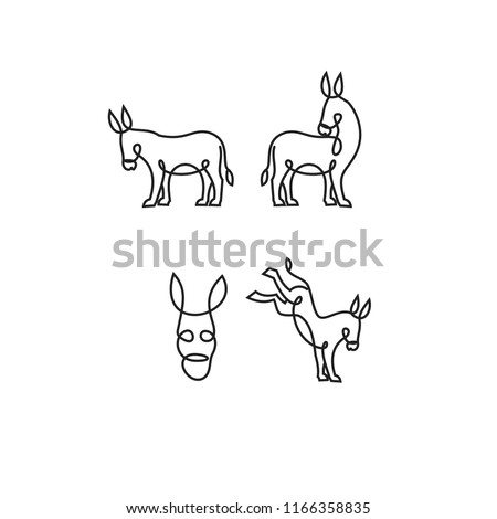 Jackass Popular Royalty Free Vectors
