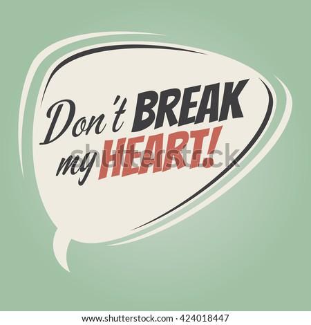 dont' break my heart cartoon