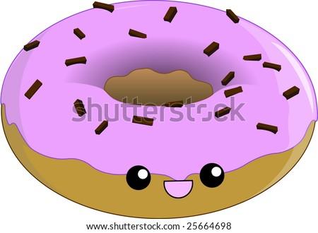 donut smiling
