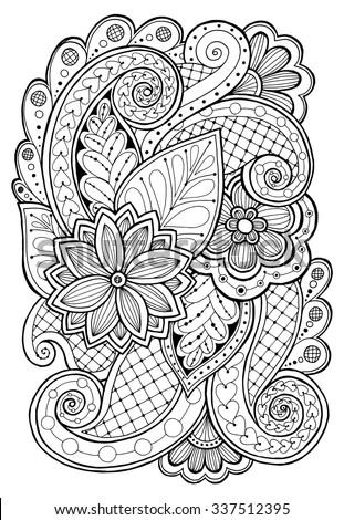 doodle background in vector