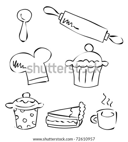 doodle baking set