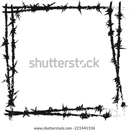 Barbed Wire Vector - Download Free Vector Art, Stock Graphics & Images