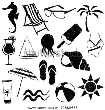 doodle beach images