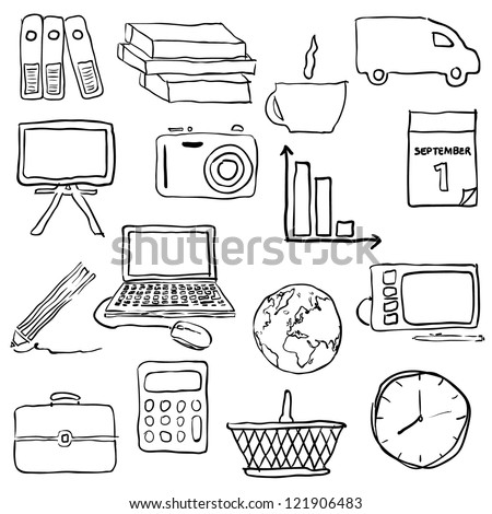 ShutterStock doodle business pictures 121906483