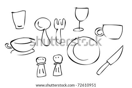 doodle cutlery