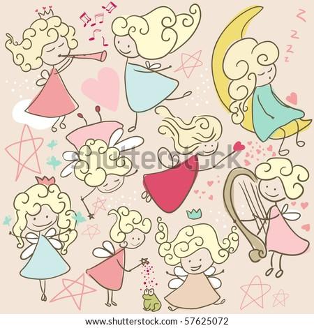 doodle fairies