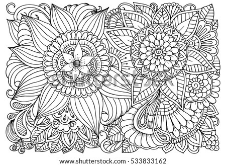 art therapy coloring page