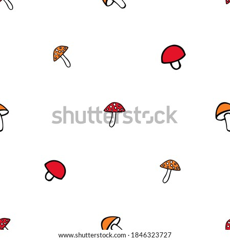 doodle fly agaric  tiny