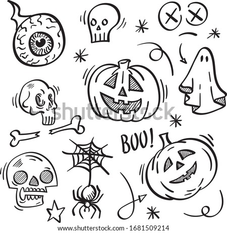 doodle  hand drawn  vector