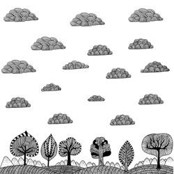 Doodle Landscape