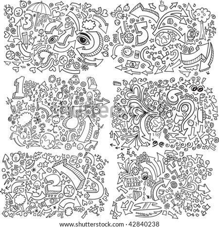 doodle sketch vector