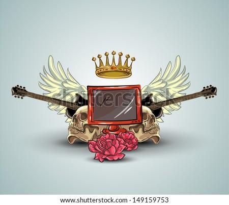 doodle tv music set