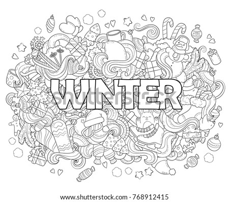 doodle vector illustration