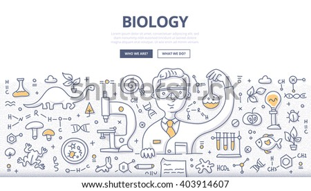 doodle vector illustration of