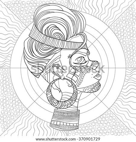 doodle vector monochrome