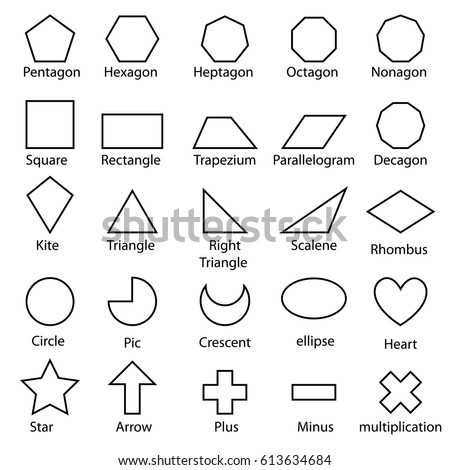 Doodle vector shape sign design