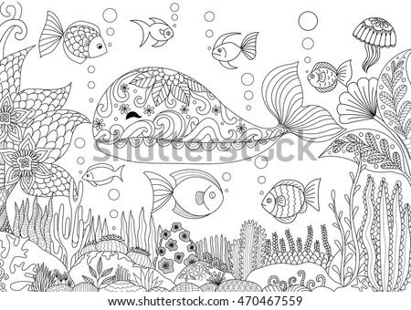 doodles design of a little
