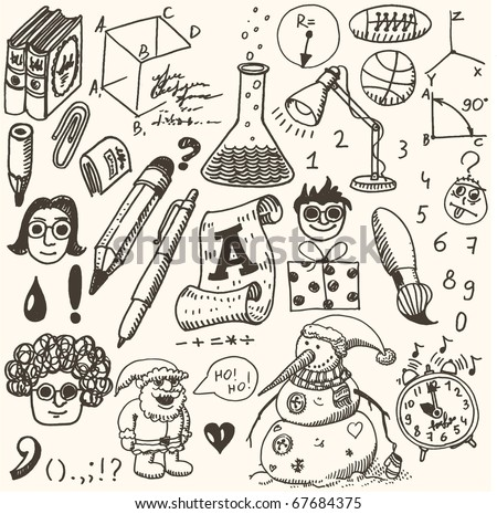 doodles - science