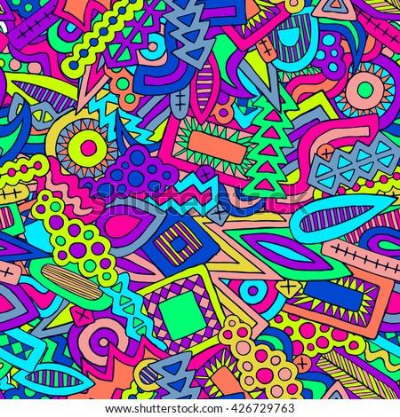 doodles vector pattern doodle