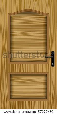 door - stock vector