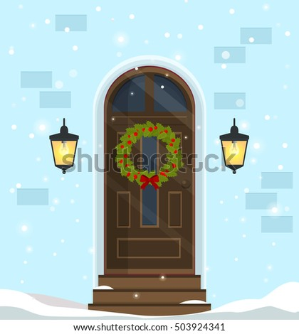 door decoration for the