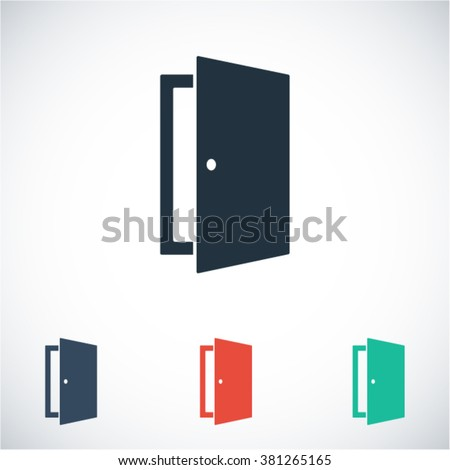 Shutterstock Door vector icon