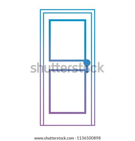 door wooden isolated icon #1136500898