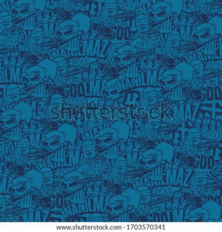 DOTA2 Blue Wild Rift Background