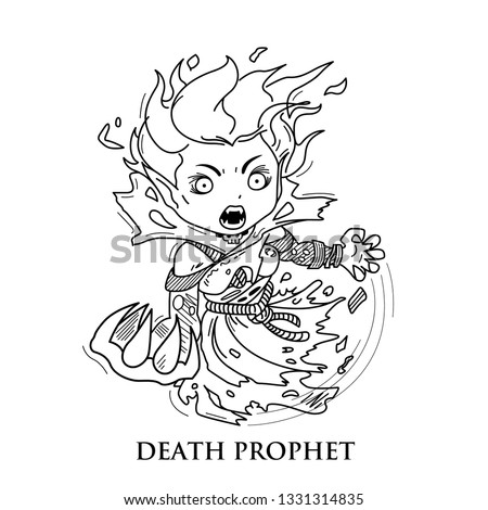 Dota / Death Prophet Or Krobelus Hero