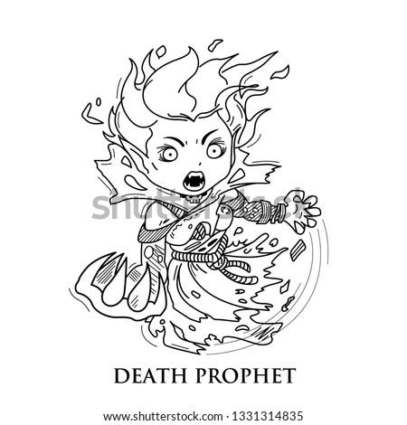 dota   death prophet or