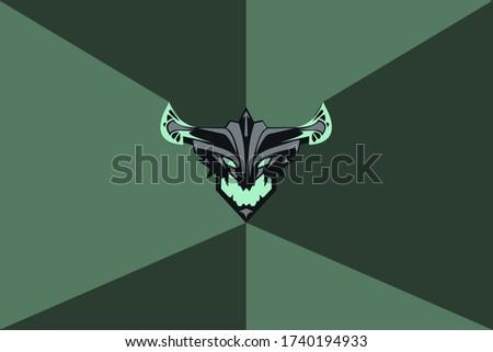 DOTA2 Hero. Devourer. background. vector. wallpaper.