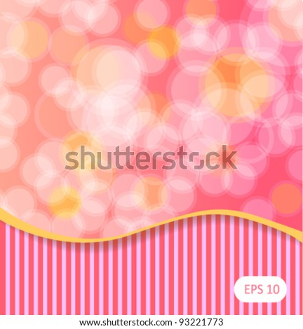 Dots abstract background pink vector illustration