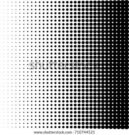 dots halftone vector illustration